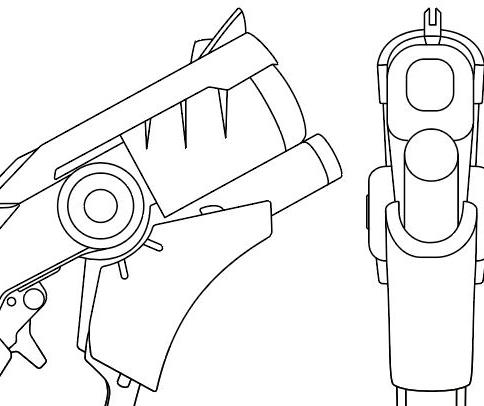 Mercy Gun Devil Imp Skins Overwatch Blueprint Download