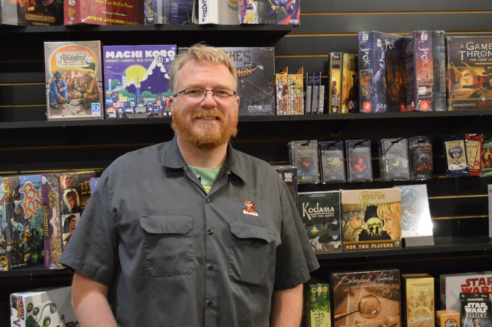 Jamie Mathy, Owner of Red Raccoon Games (Christian Prenzler for AdaptBN)