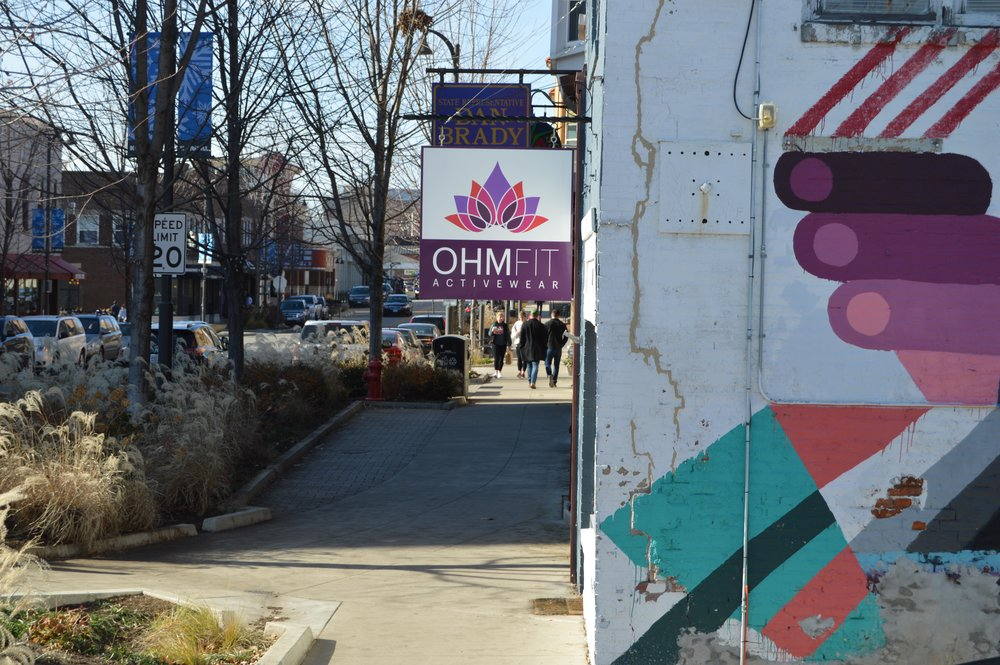 OhmFit's retail store sits in the center of Uptown, near other stores like The Garlic Press and Uptown Gifts and Accessories. (Christian Prenzler for AdaptBN)