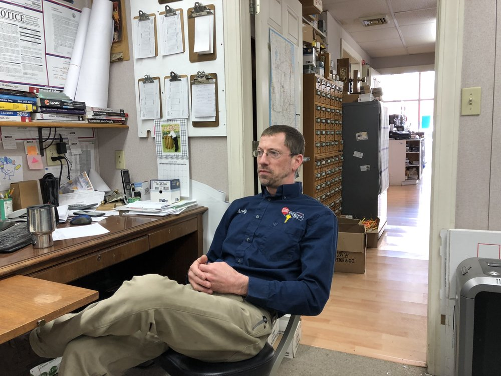 Andy Streenz, co-owner of Bill's Key & Lock Shop, sits down for an interview with AdaptBN.