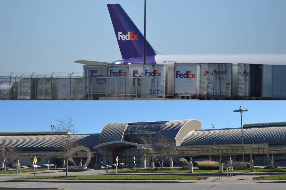 FedEx Express opened its distribution hub at CIRA in February 2015. A $5M public private partnership helped it to expand its service from three markets at PIA to five at CIRA. (Image Credit: Cristian Prenzler)