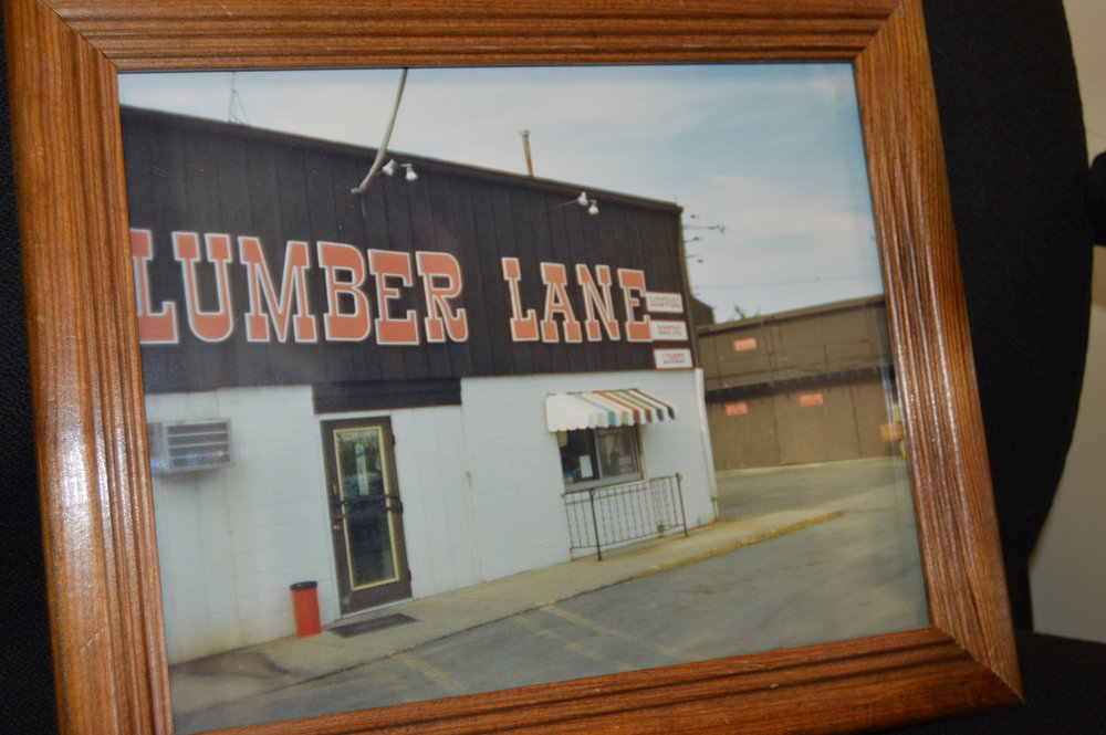 The building's history includes having served as the main office for Lumber Lane. (Image credit: Breanna Grow)