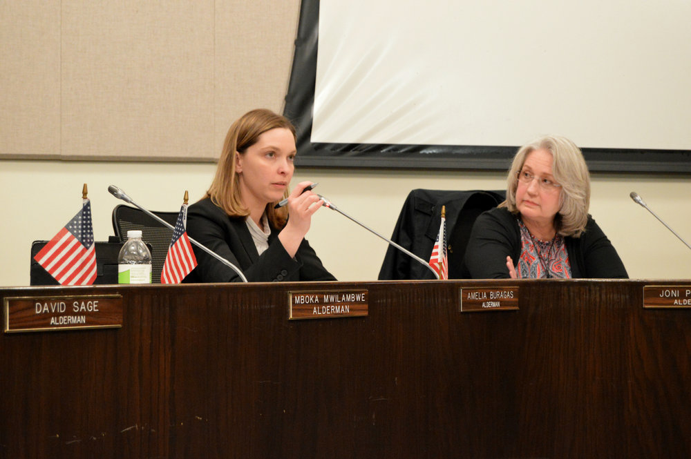 Ward 4 Alderwoman Amelia Buragas made a motion Monday night to approve changes to fees and services for the City's solid waste collection. Aldermen passed the motion with a 6-3 vote.