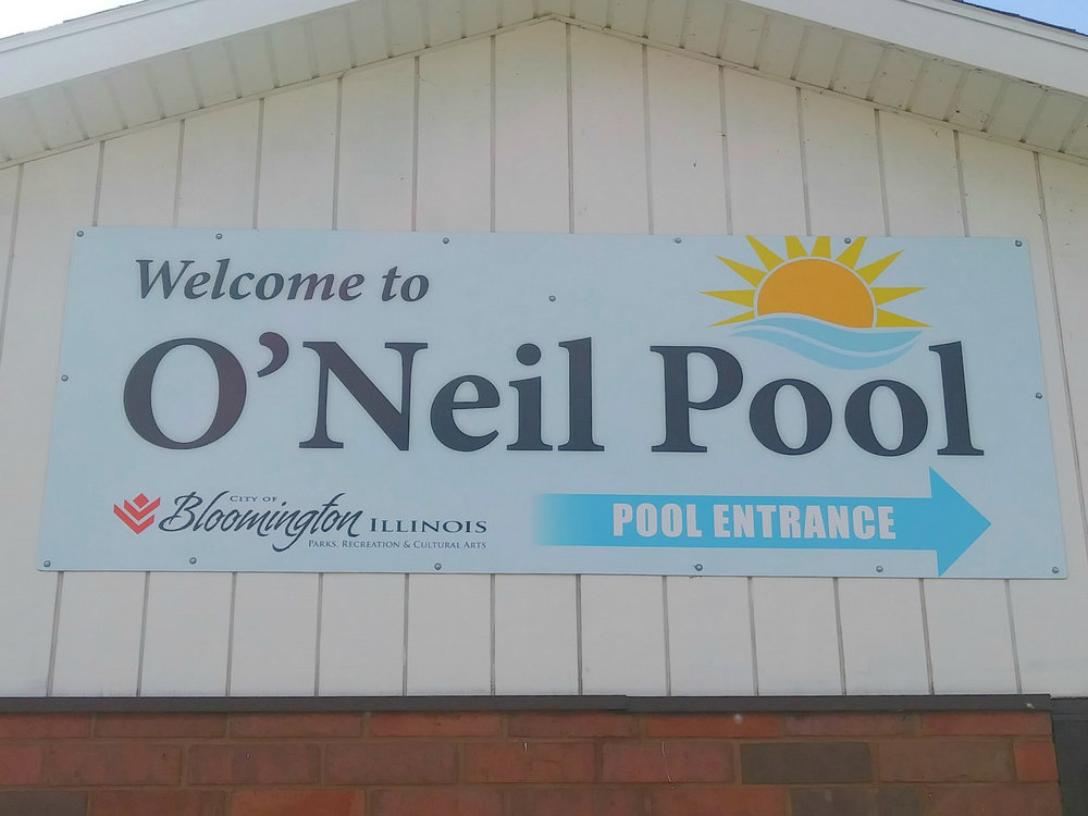 The City's upcoming comprehensive parks and recreation plan will develop a 15-year road map for the department's future, including renovations to the aging O'Neil Pool. (Image credit: Breanna Grow)
