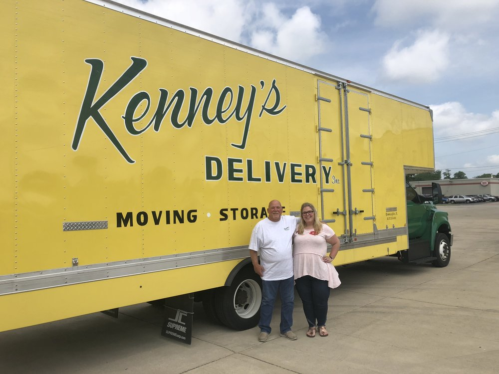 Dave Barling and Katie Barling of Kenney's Delivery (Photo: Erik Prenzler/AdaptBN)