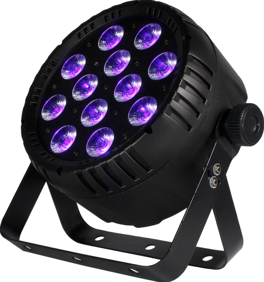 BLIZZARD LB PAR HEX - 6-in-1 LED fixture, the LB PAR™ Hex! With 12x totally bright 15-watt RGBAW+UV 6-in-1 LEDs, LB PAR™ Hex fixtures give you the ability to create any rich, vibrant color you can possibly imagine, plus the option to throw some ultraviolet light into the mix to give off an eerie hue. The cherry on top? These fixtures are solidly built units with durable scratch resistant composite housing and dual mounting brackets for flexible positioning.