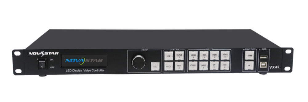 NOVASTAR VX4S - VIDEO WALL PROCESSING   SCALING   SWITCHING