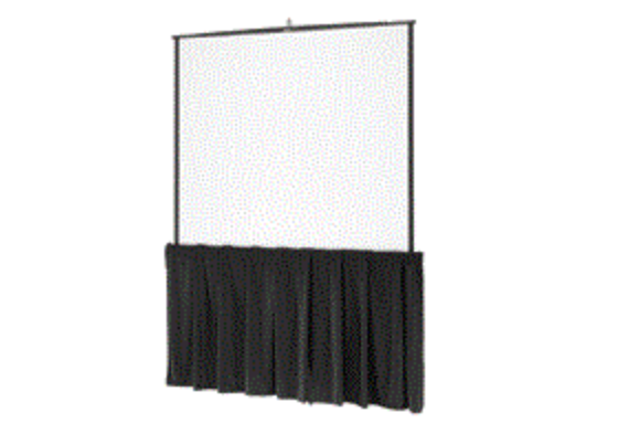 TRIPOD SCREENS - 6-10' FRONT PROJECTIONDRAPE KITS & SKIRTING AVAILABLE
