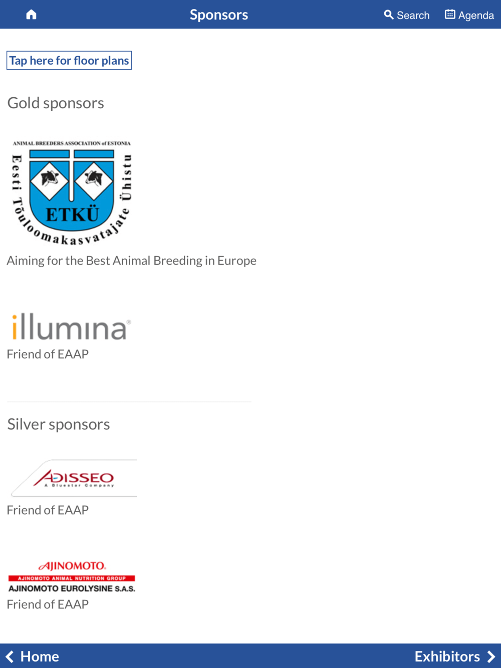 Copy of Sponsors and Exhibitors