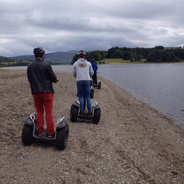 Segway tour on blessington lake