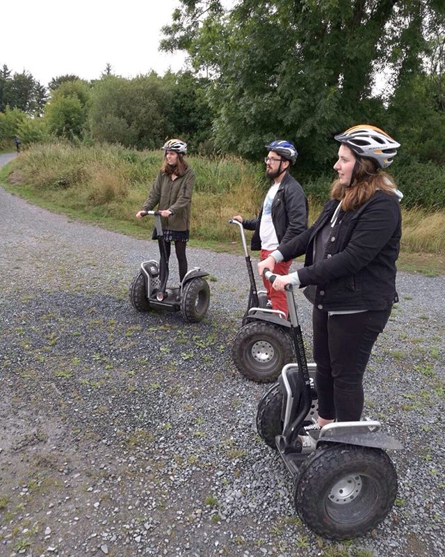 Did you never try Segway?  #segway tour on Phoenix Park  #segway tour on Blessington lake (co Wicklow) #adventure breaks Ireland