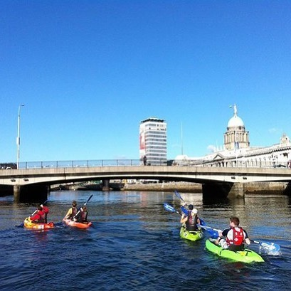 Today is good day for city kayak