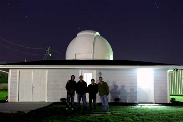 Cosmic Obsession Observatory First Light February 25, 2012