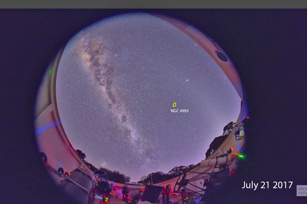 ITelescope and Milky Way