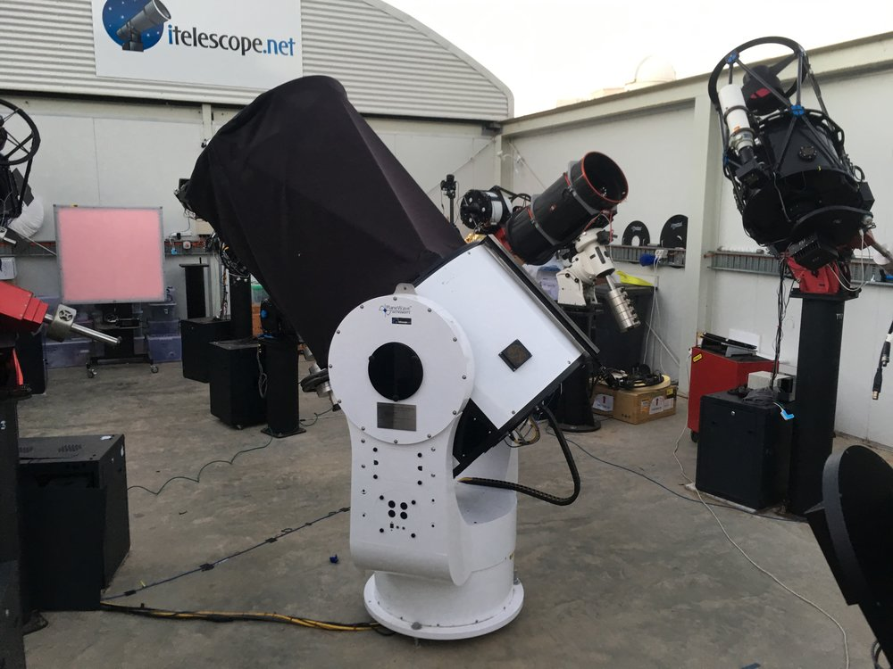 Copy of Copy of ITelescope Siding Spring