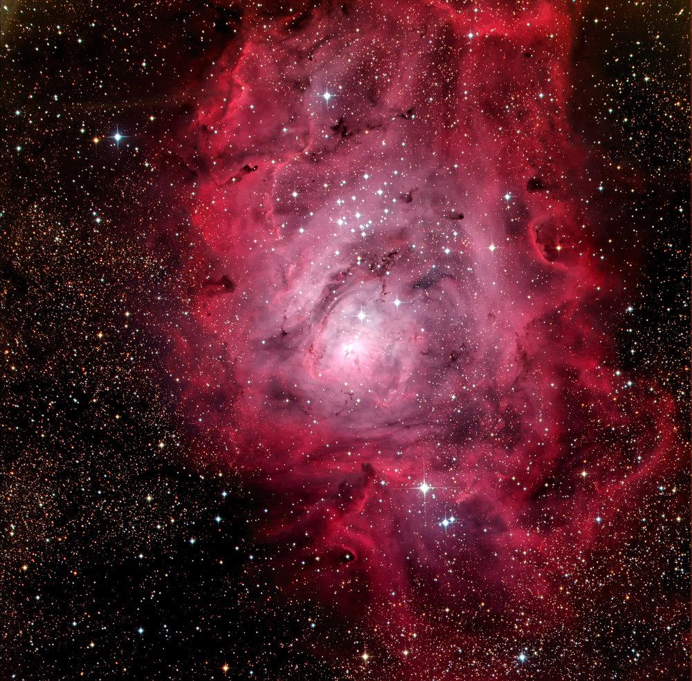 Lagoon Nebula / ITelescope
