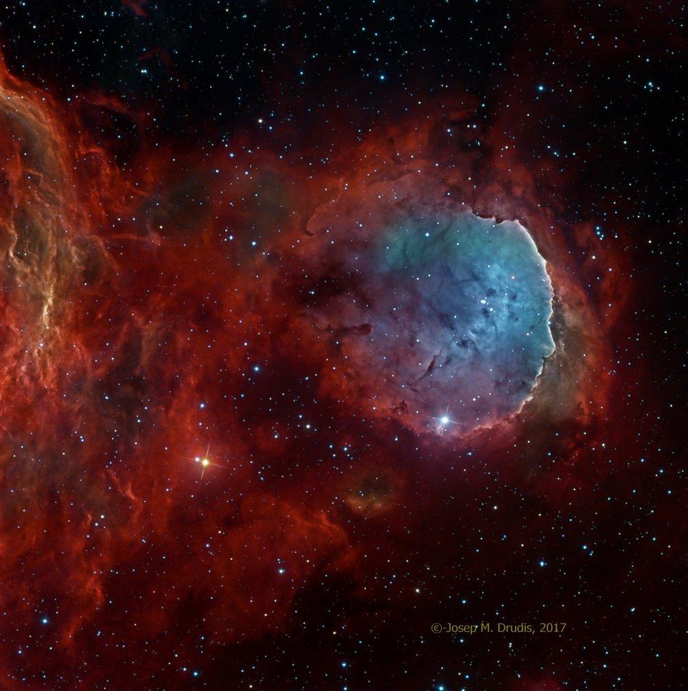 NGC 3324 Narrowband / ITelescope