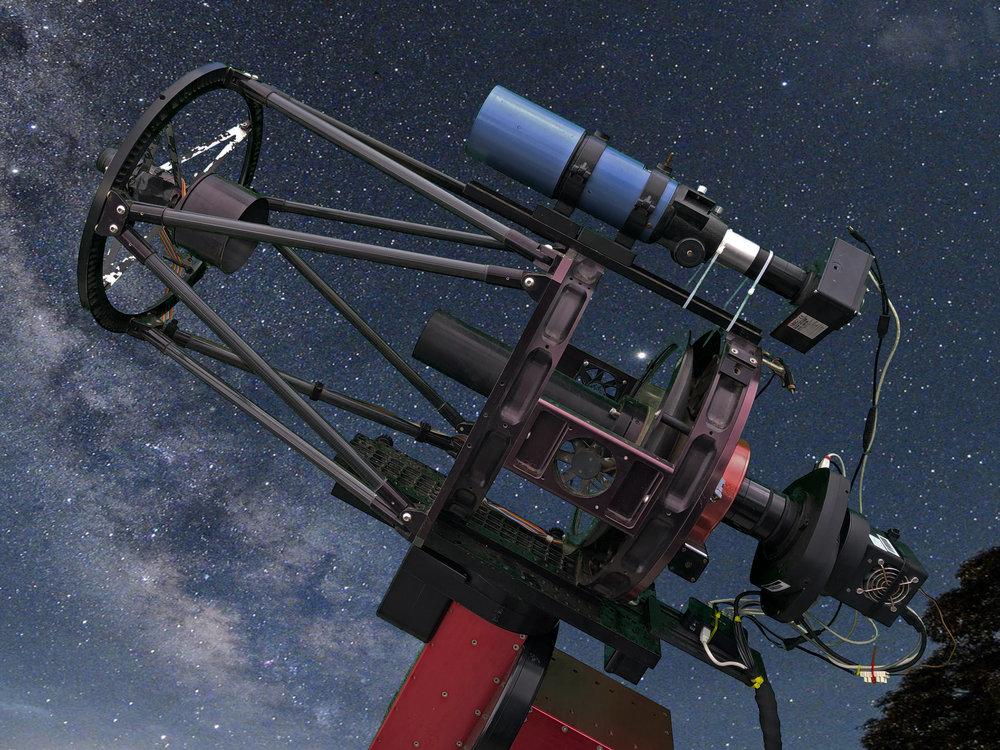 "T63  - 12.5"" 320mm RCOS   CCD:  FLI 11002  FOV:  42.4 x 28.2 arcmin   Filters:  L R G B"