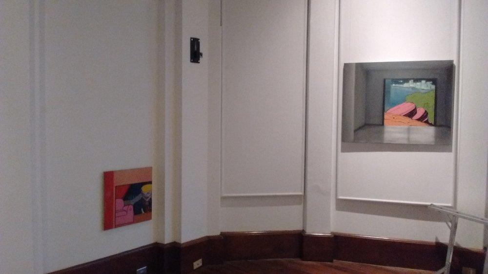 Exposición  Posibilidades de Aleph , Alianza Fracncesa, San José, Costa Rica.