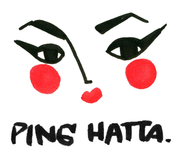 Ping Hatta. – Fashion illustrator and live-event portrait artist based in New York