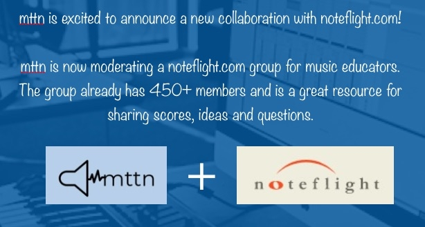 Noteflight Music Educators Group
