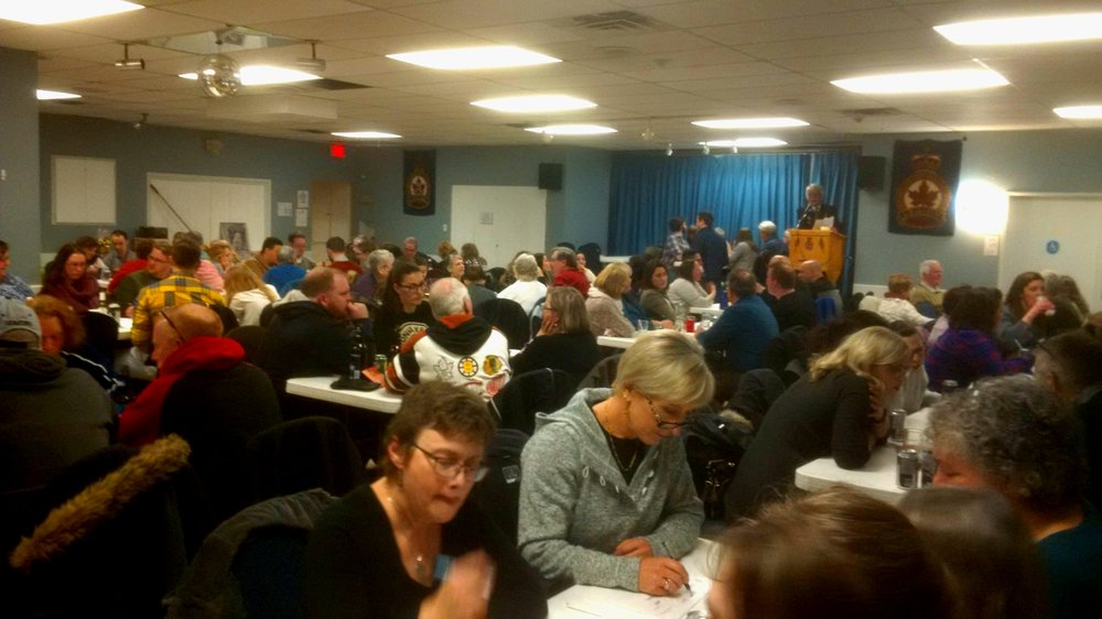 Full house at the Westboro Legion for Trivia Night!