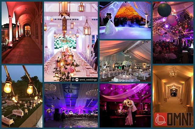 Omni Weddings- #imaginemore #tulsawedding #oklahomawedding #lighting