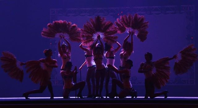 Dramatic Silhouettes from a past #carnivale.