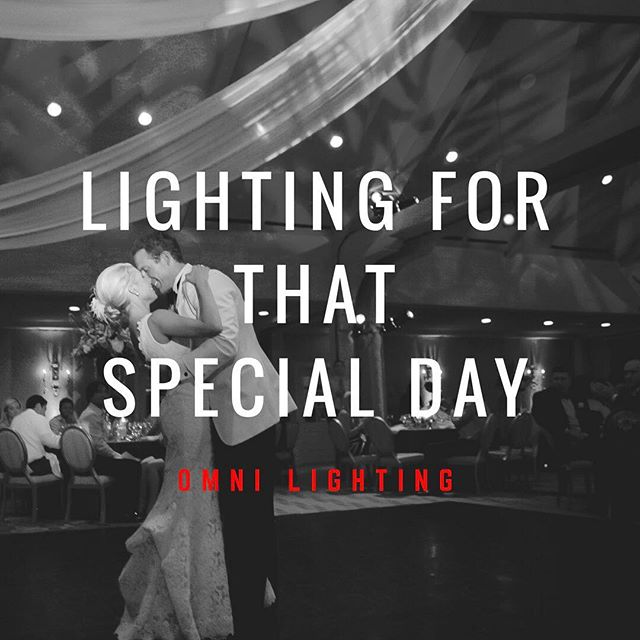 We'd love to bring your wedding to *light*💡