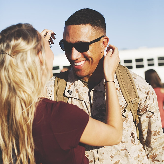 Military homecoming Photographer, based in Beaufort, South Carolina