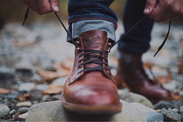Explorin' boots. Fall gear essentials.