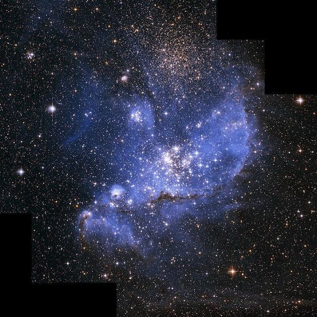 "Mans final frontier is not space, mans final frontier is the soul. #float  Credit: NASA, ESA and A. Nota (STScI/ESA)⠀ ⠀ #nasa #space #hubble #spothubble #stars #nursery #telescope #infant #gas #clouds #hydrogen #fuel #sun #mass #science #solarsystem #universe""⠀"