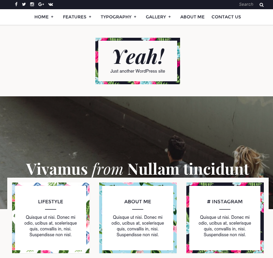 7 Wordpress Themes Under $75 | octoberjune.com