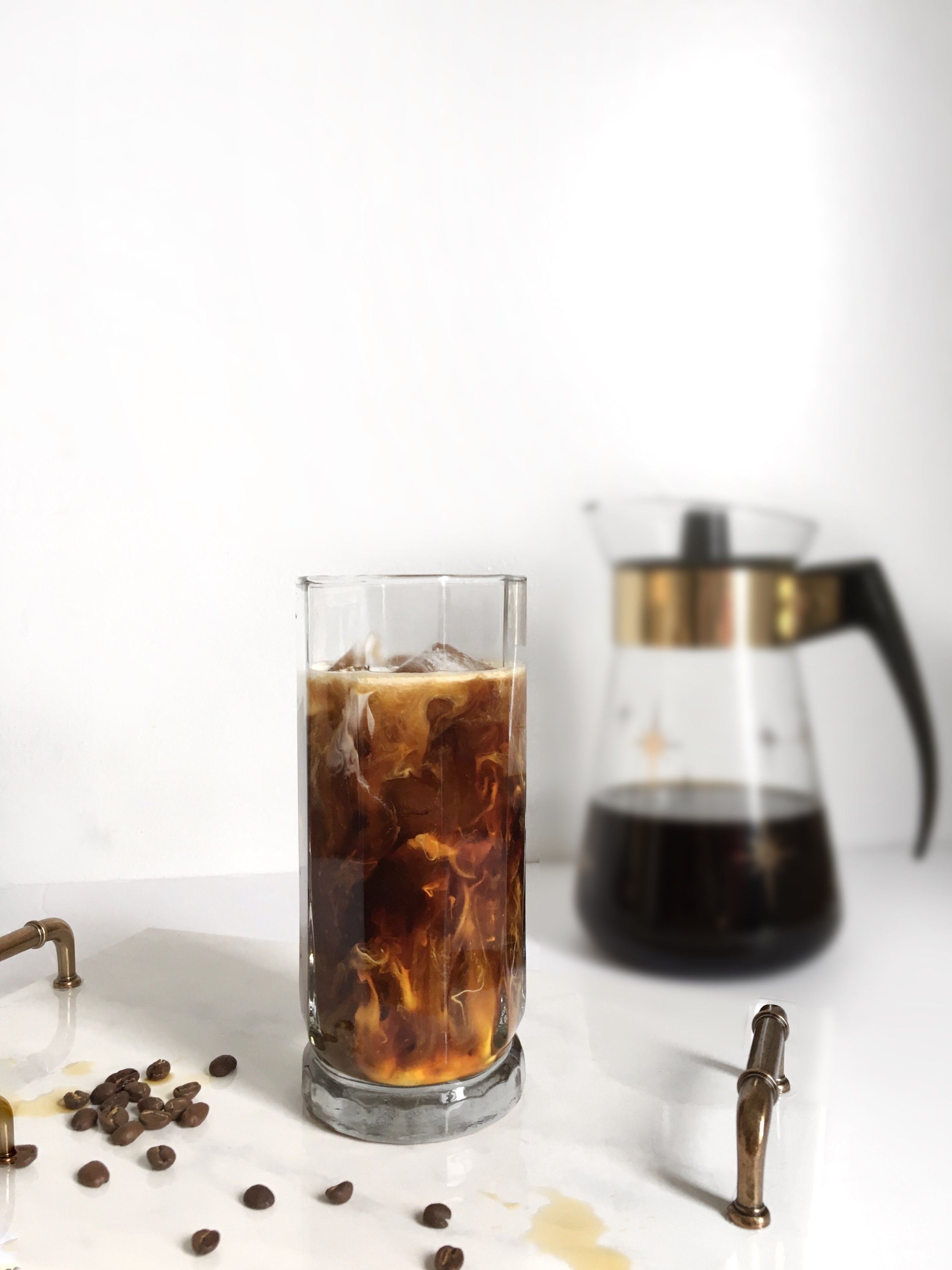 The Ultimate Cold Brew Iced Coffee Recipe | octoberjune.com