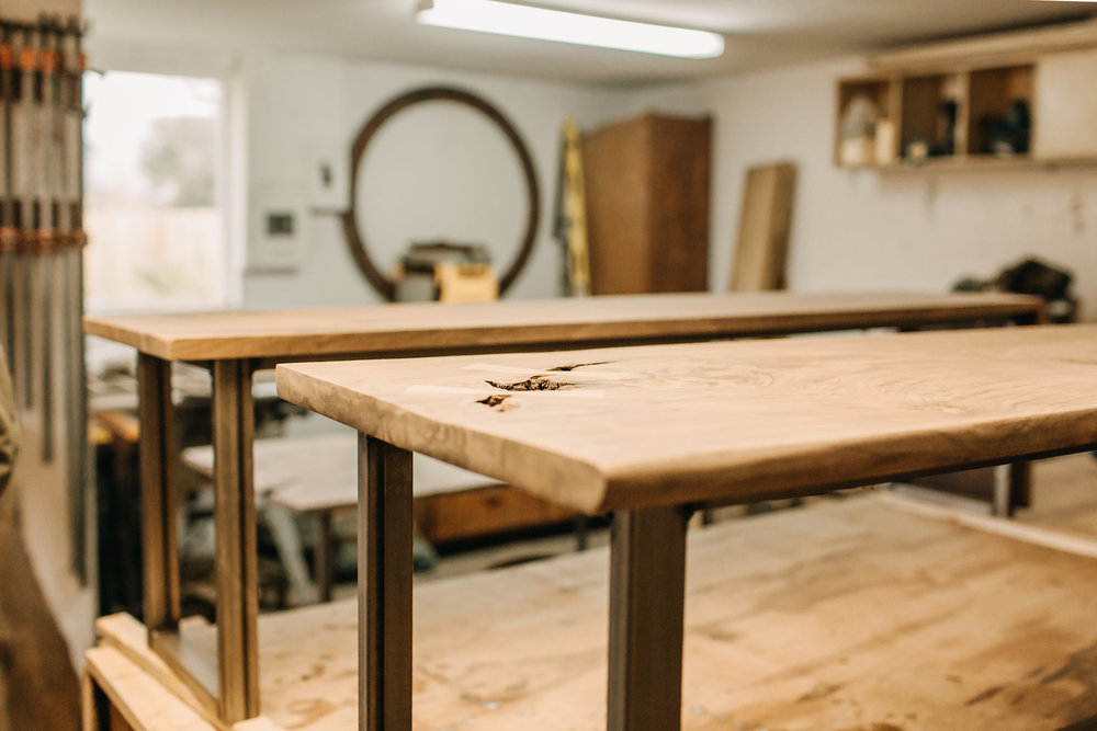 Dining Table Benches In Progress