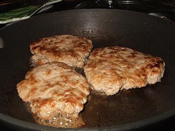 Turkey Burger patties