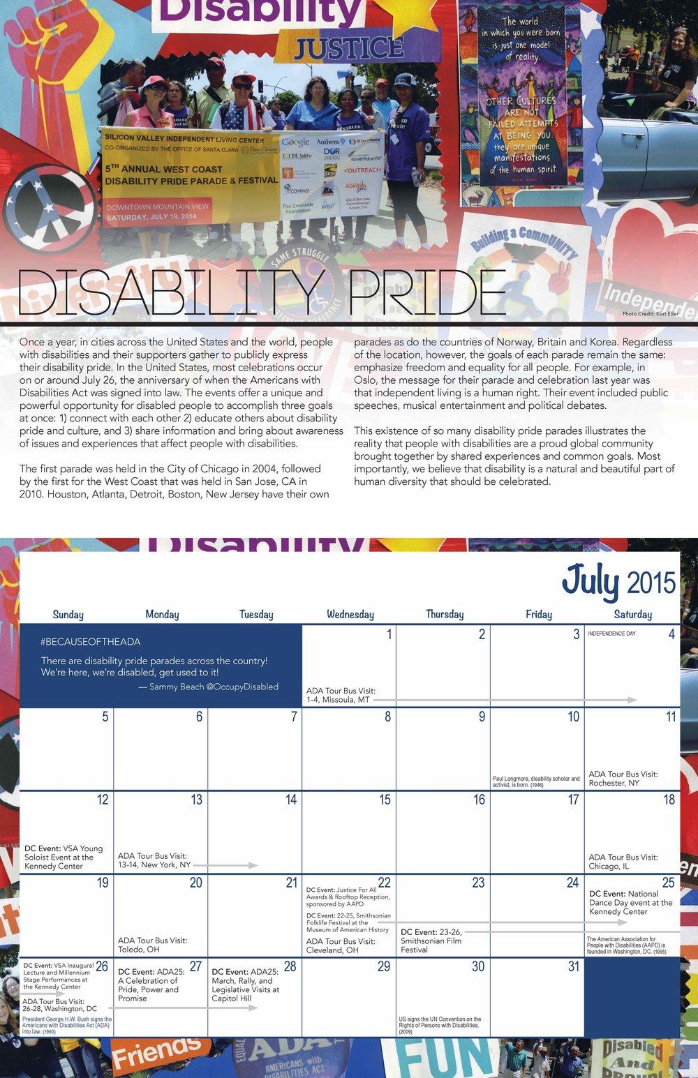 SVILC 2015 Calendar  July spread