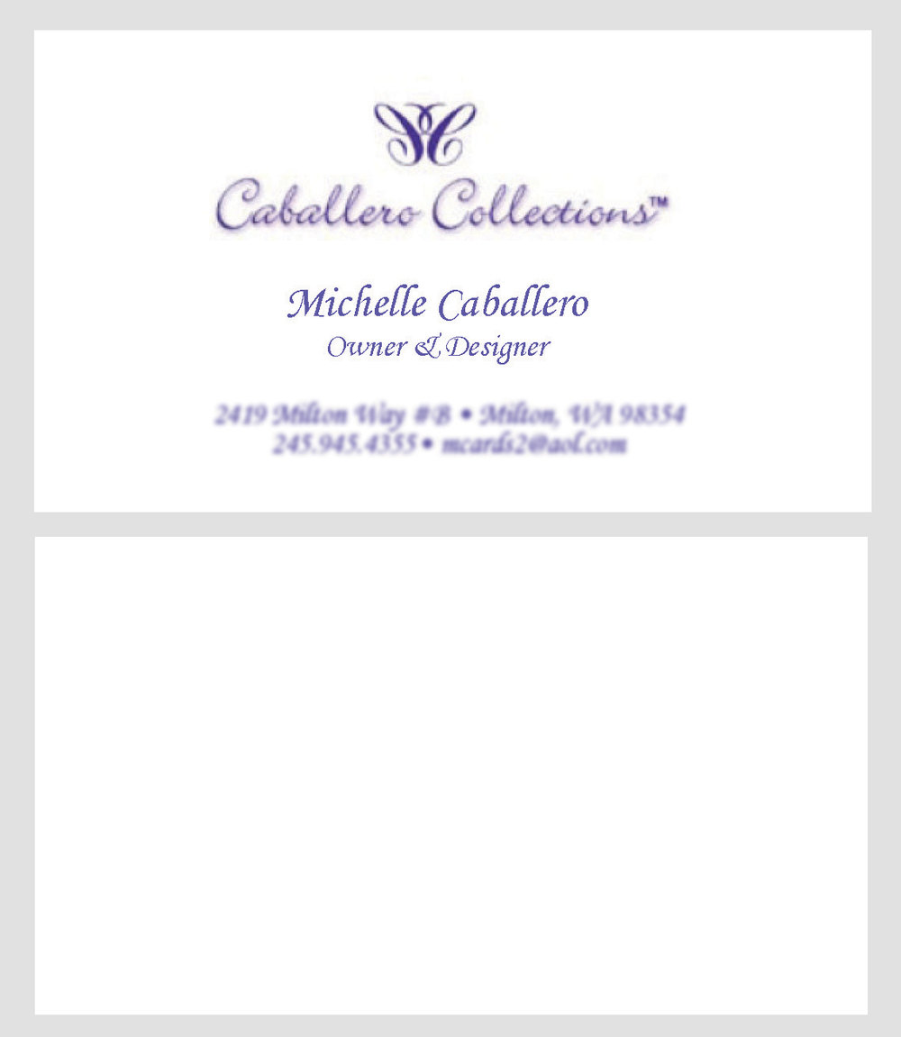 Caballero Creations Business Card