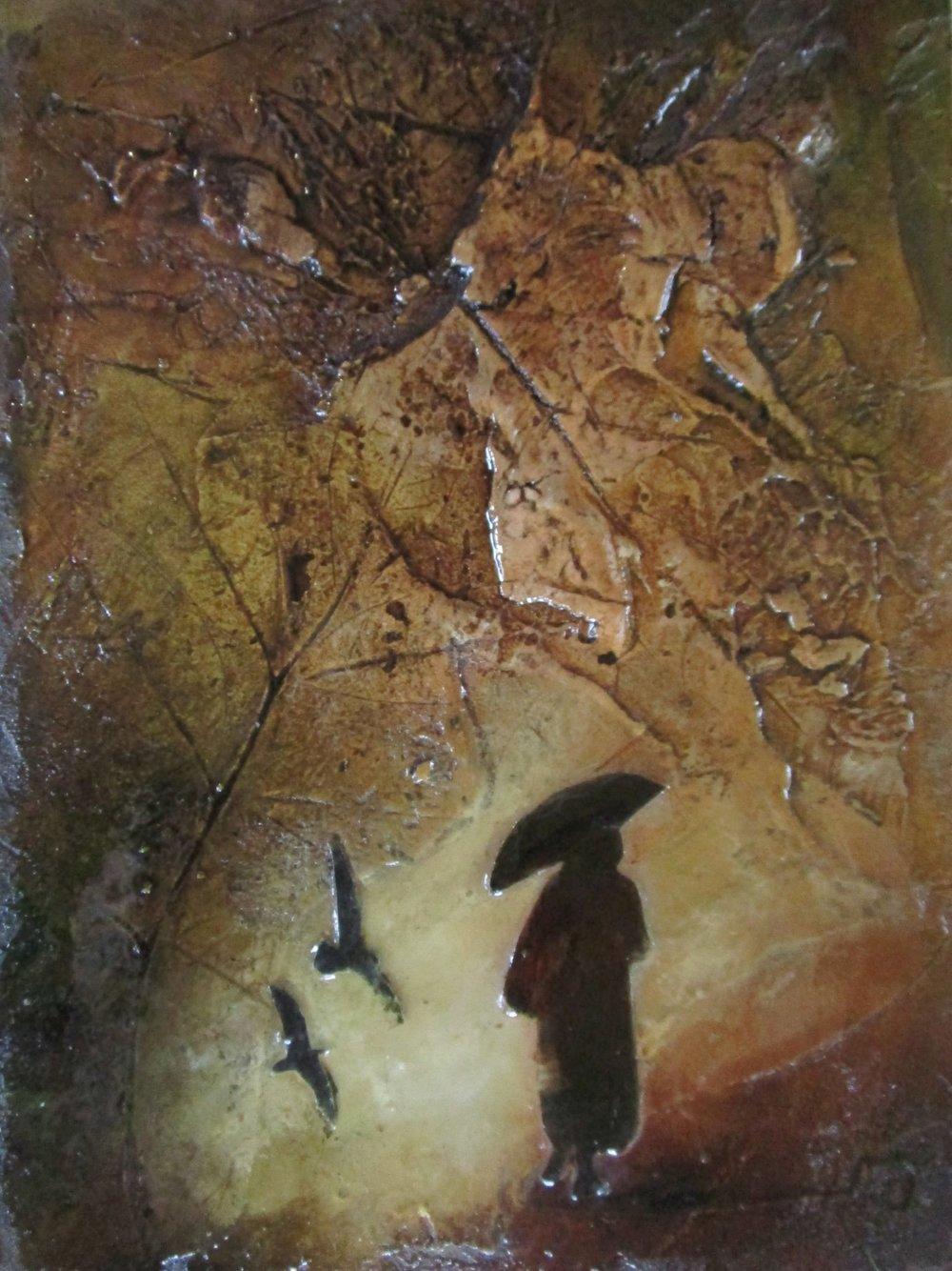 Lara Mellon - Journey towards Home - Mixed Media on Board - 16x12cm.JPG