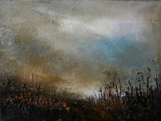 Horizons IV - 12cm x 16cm - oil on canvas - SOLD