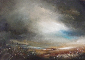 Hopes Horizon I - oil on canvas - 20 x 28cm - SOLD