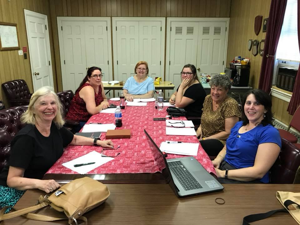 Our Congregational Council - Our Council is made up of dedicated leaders in our church. The council serves as the leadership board of the church. Members are elected for a three year term from the congregation. The current council is made up of (From left to right): Merry Kelly (President), Diane Conn (Vice President), Joan Nagel (Treasurer), Heather Conn, Carol Hancock, and Cheryl Lafferty (Secretary)
