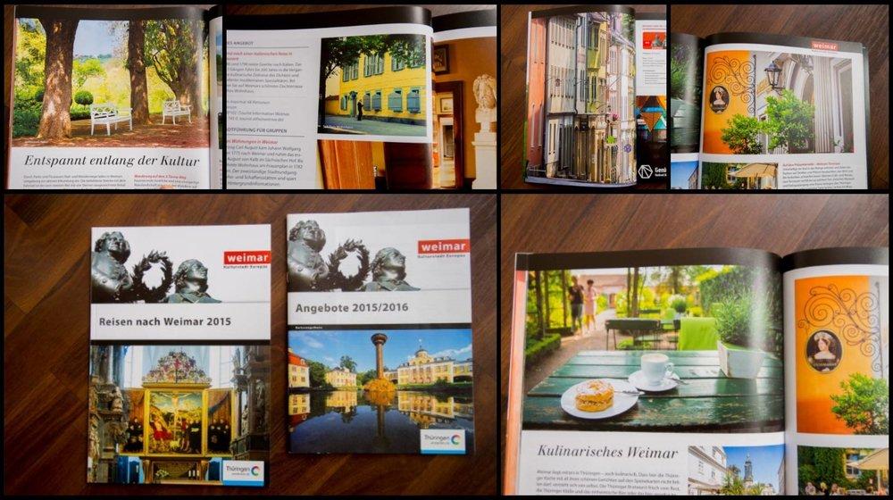 Veröffentlichungen einiger Bilder in diversen Tourismusmagazinen von 2016
