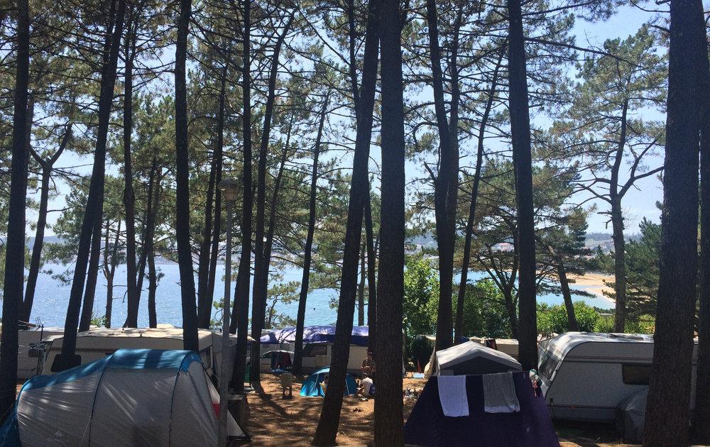 Camping Coroso_Parcelas