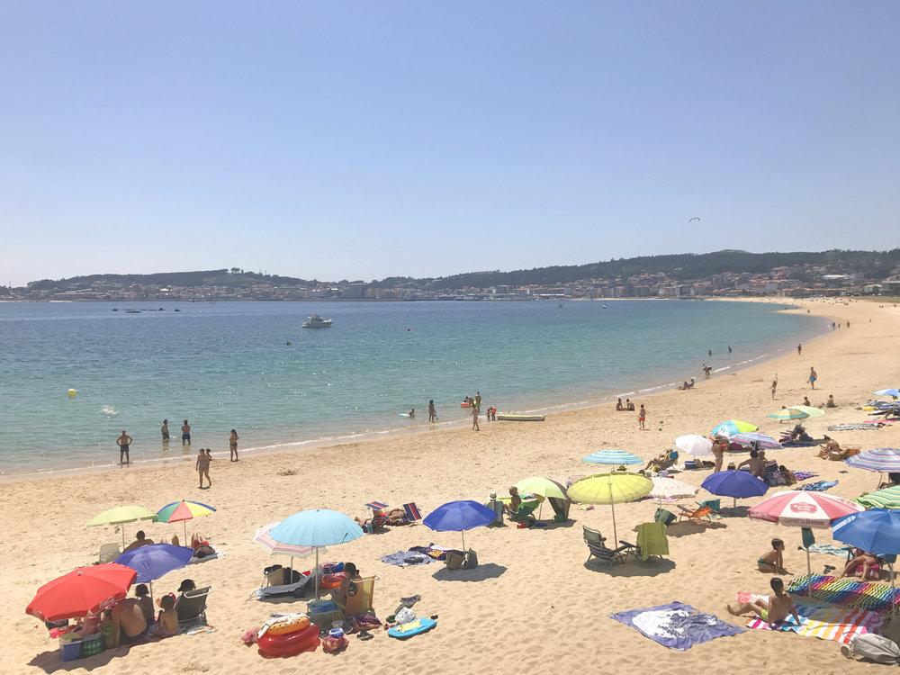 Campings Galicia_Camping Coroso_Playa de Coroso