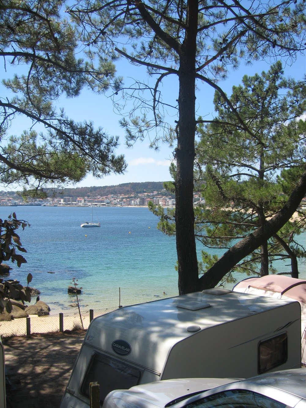 Campings Galicia - Camping Coroso - Playa de Coroso