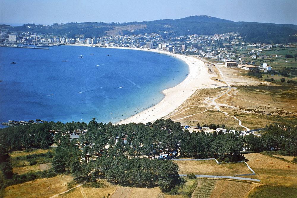 Campings Galicia_Camping Coroso_Playa y Pinar de Coroso