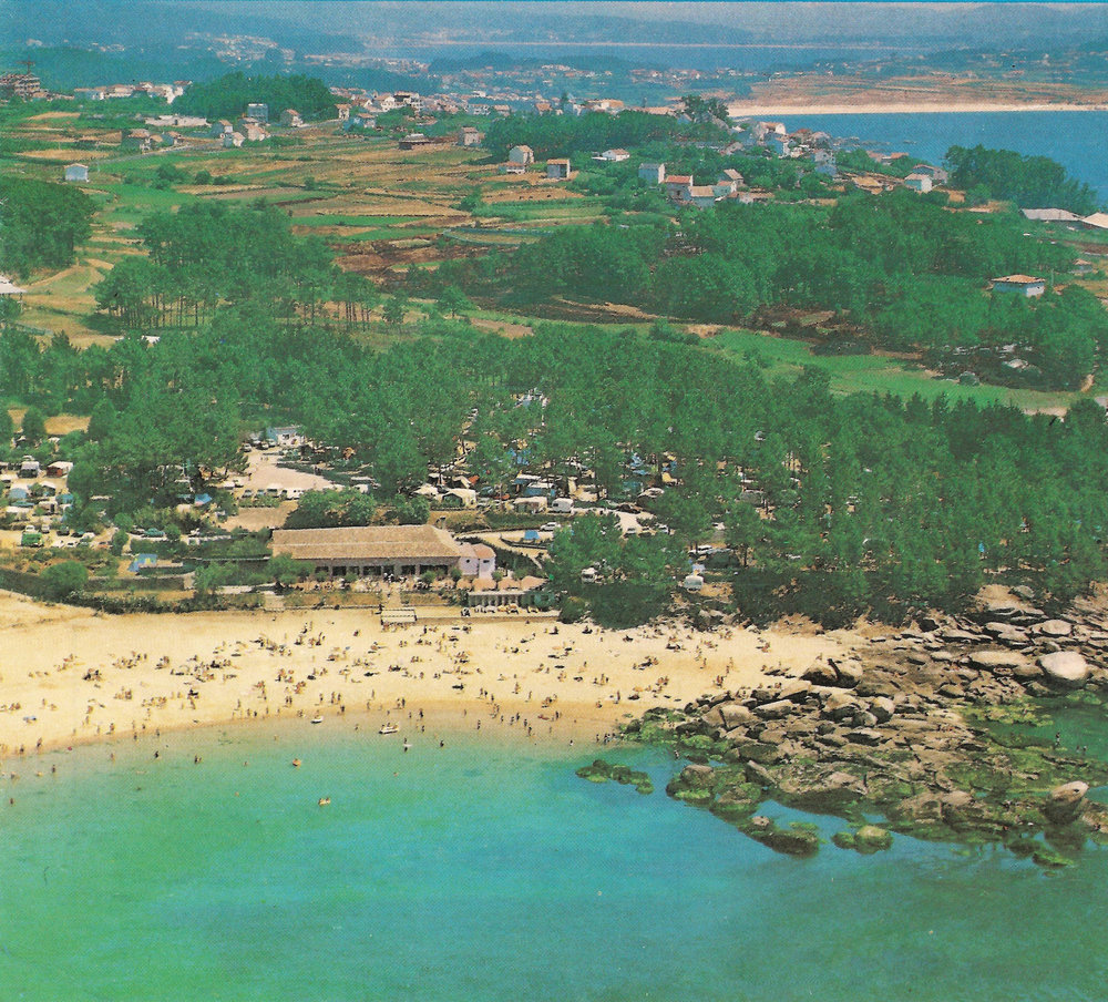 Campings Galicia_Camping Coroso_Aerial View