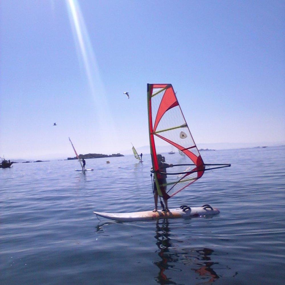 Camping Coroso_Cultura Actividades_Windsurf