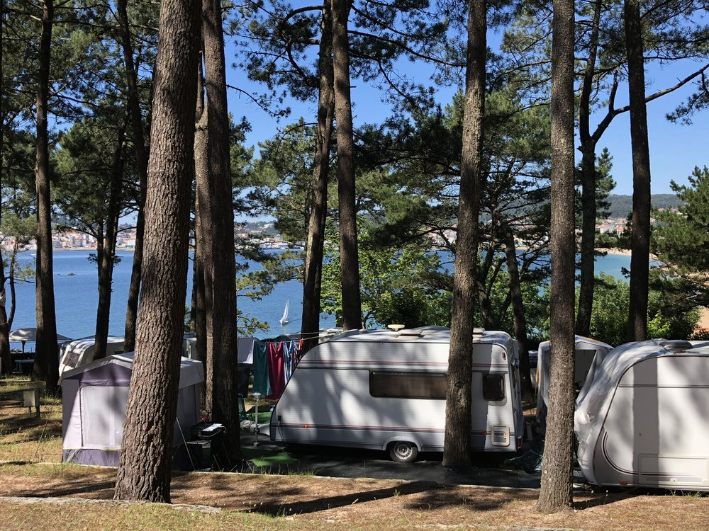 Campings Galicia_Camping Coroso_Camping Area